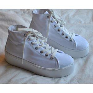 ASOS 'Divan' Platform High Top Sneakers